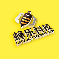 蜂樂科技logo設計