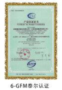 6-GFM泰爾認證