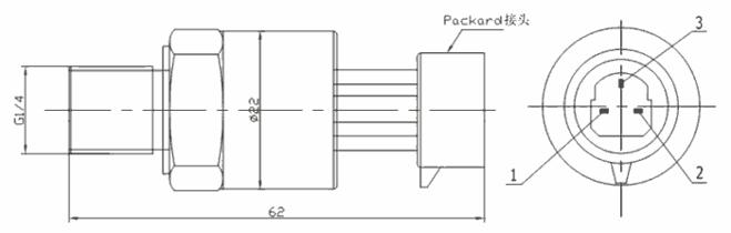 PH230压缩机压力传感器
