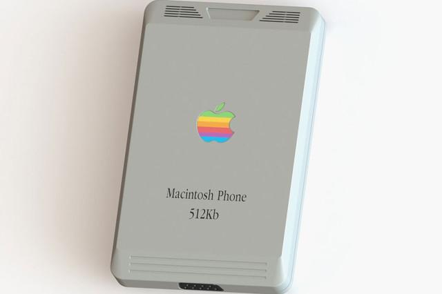 如果iPhone生于1984年 它可能长这样