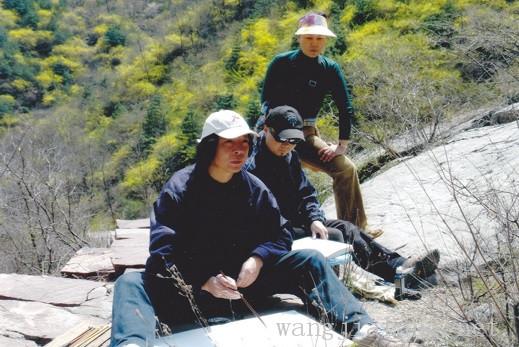003 2007年汪家芳在太行山写生01.jpg
