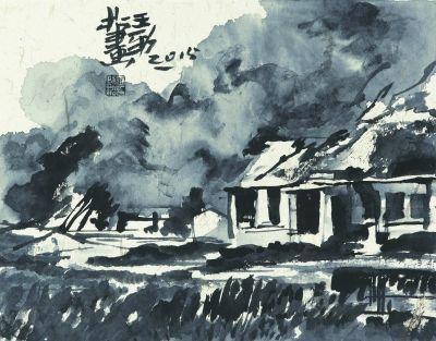 《水墨风景》  王劲松
